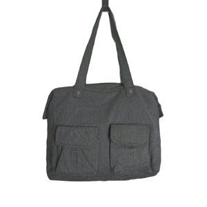 Thirty-One Womens Large 2 Front Pockets Tote Bag